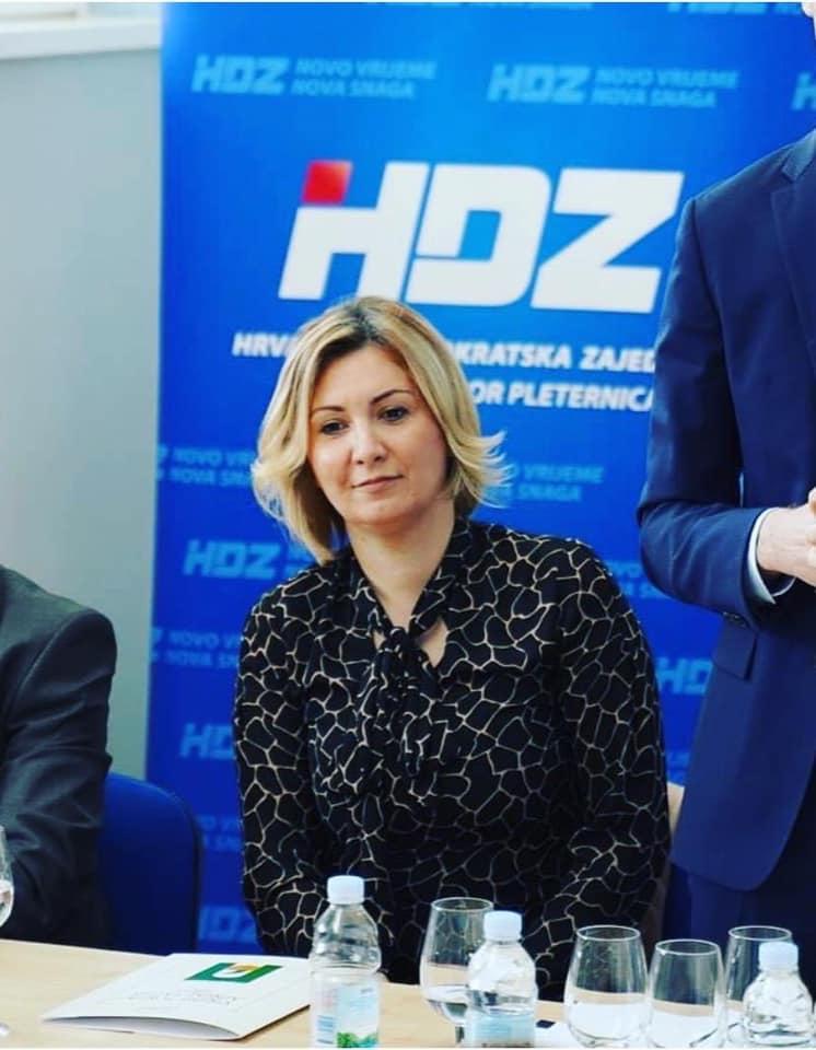 Antonija Jozić nova predsjednica Županijske organizacije HDZ-a Požeško slavonske županije