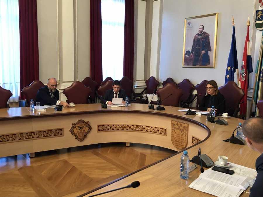 Ministar Butković na radnom sastanku s županicom Jozić