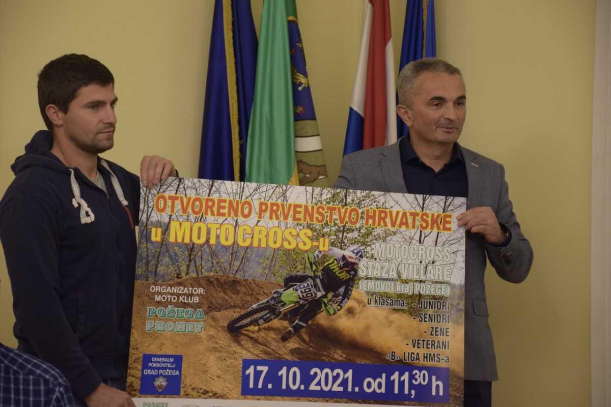 Dvije utrke Otvorenog prvenstva Hrvatske u motocrossu ovog vikenda u Požegi